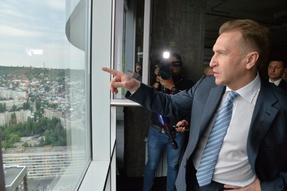 ВСаратов прибыл 1-ый зампред руководства РФ Игорь Шувалов