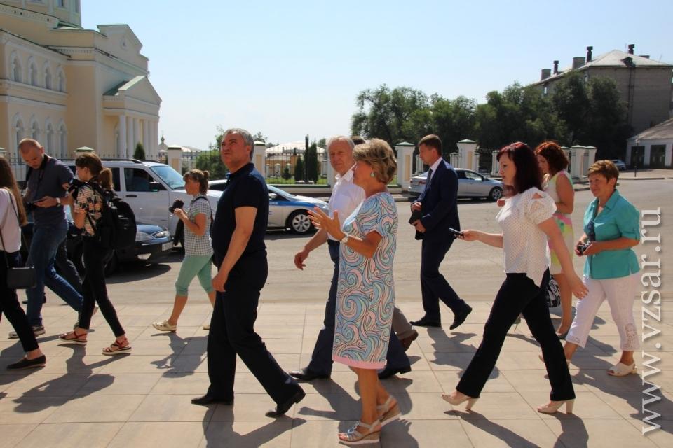 ВВольске ожидают открытия историко-культурного парка и монумента купцу