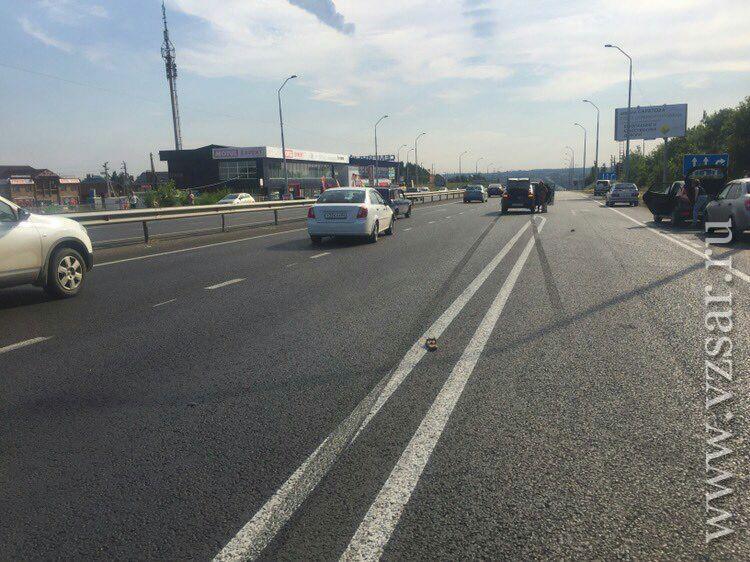 Шофёр насмерть сбил женщину наУсть-Курдюмском шоссе