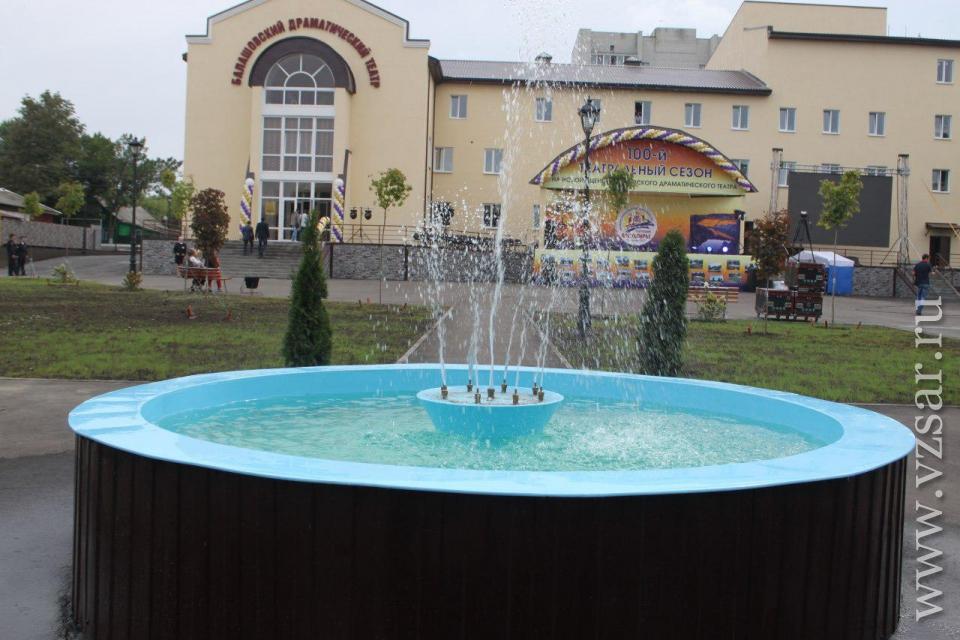 ВБалашове состоялось открытие драматического театра