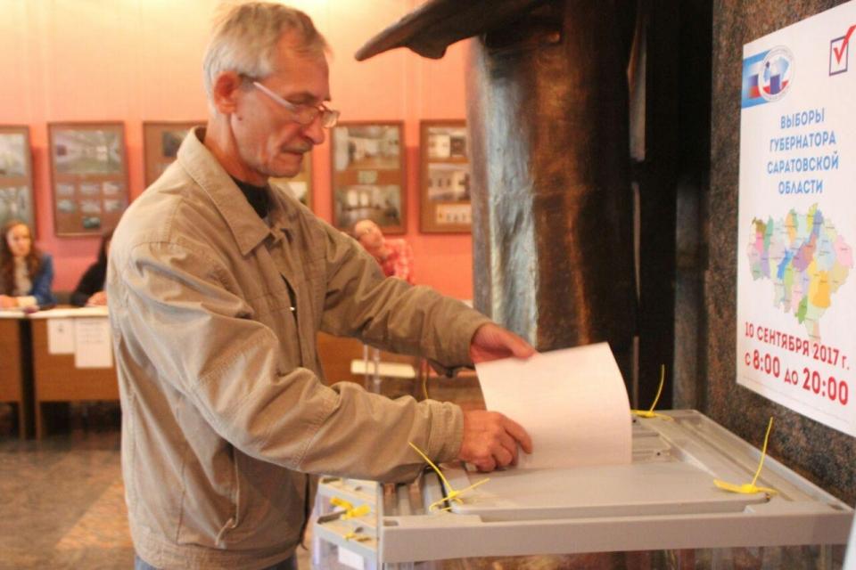 Саратовцы голосуют на выборах губернатора и депутатов облдумы 1942 27 10 сентября 09:05 +5