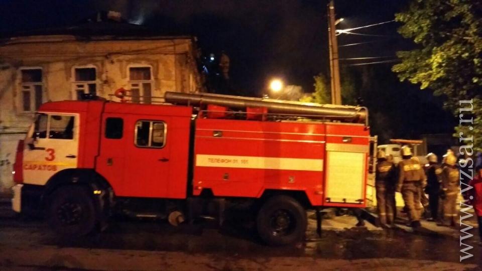 Вцентре Саратова вовремя пожара погибли двое неизвестных мужчин