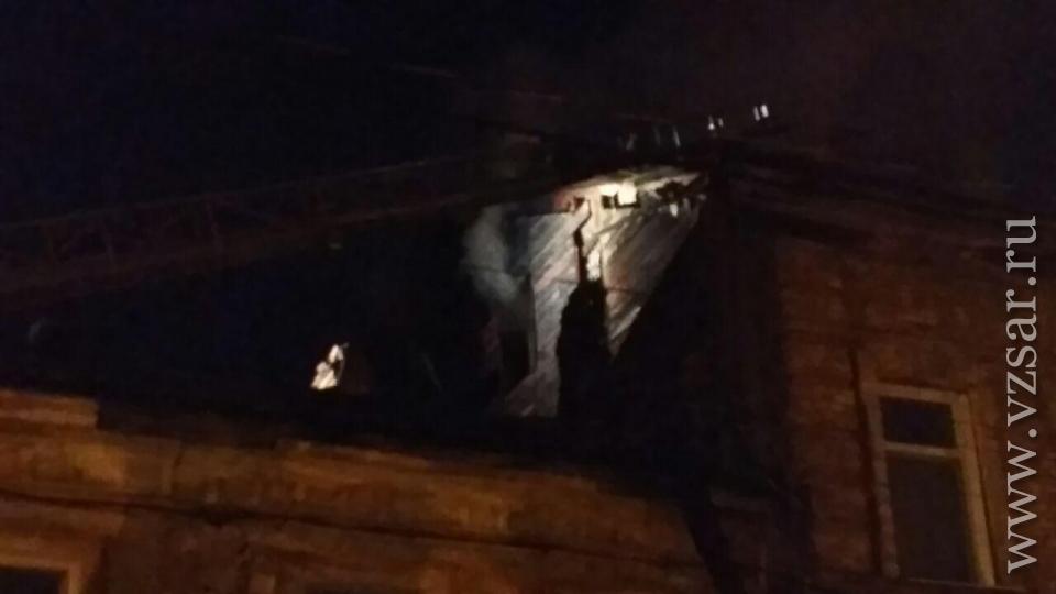 Напожаре в личном доме наМясницкой погибли два человека— свидетели