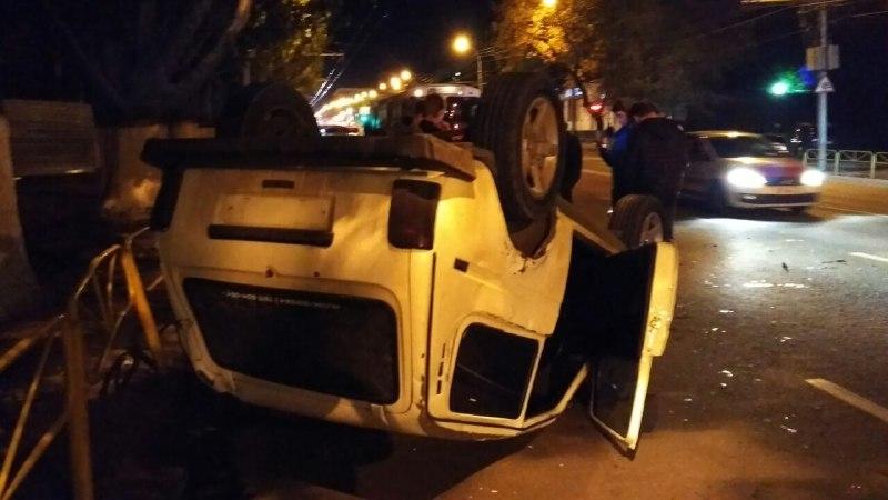 Девушка пострадала вДТП «Нивы» синомаркой Тойота вСаратове
