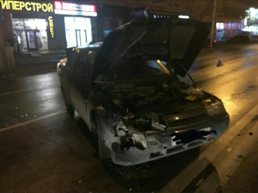 ДТП наЧернышевского: «Нива» опрокинулась накрышу, пострадала девушка