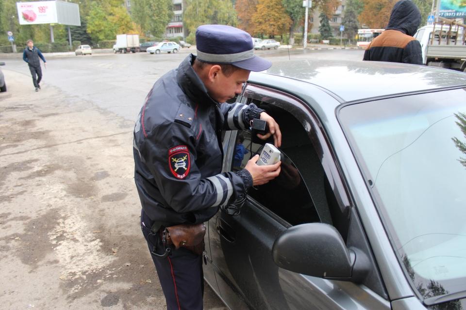 Задва дня 286 саратовских водителей растонировали свои автомобили