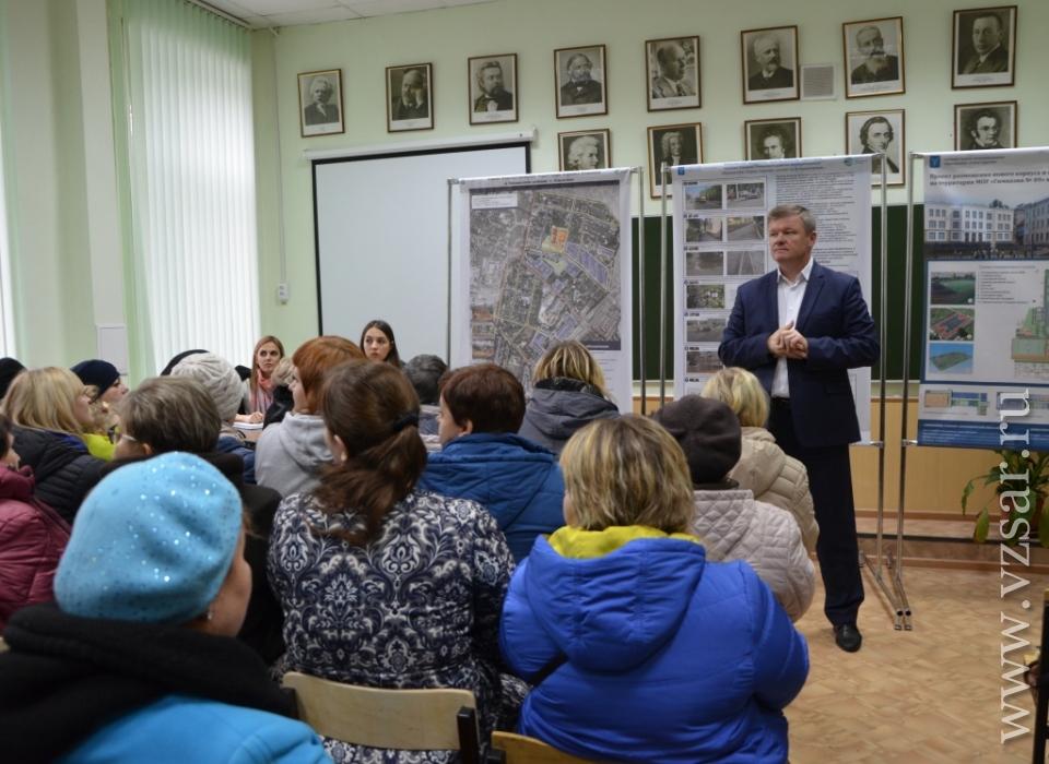 Михаил Исаев представил комплексный проект благоустройства Елшанки
