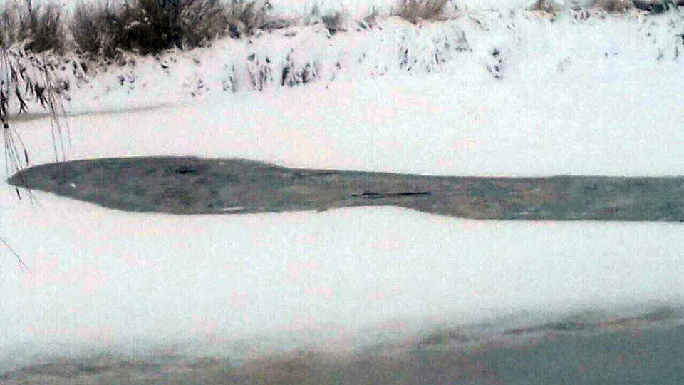 ВБалакове два лыжника провалились под лед