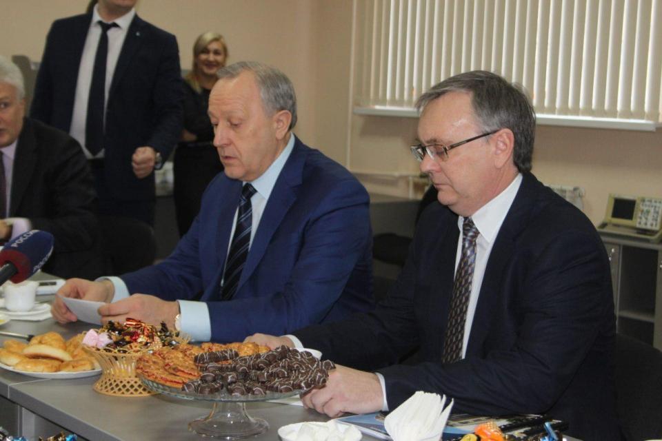 Радаев ожидает полноценного ремонта восьмого корпуса СГУ ксентябрю