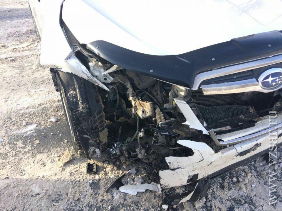 Трое пострадали встолкновении 3-х машин наулице Шехурдина