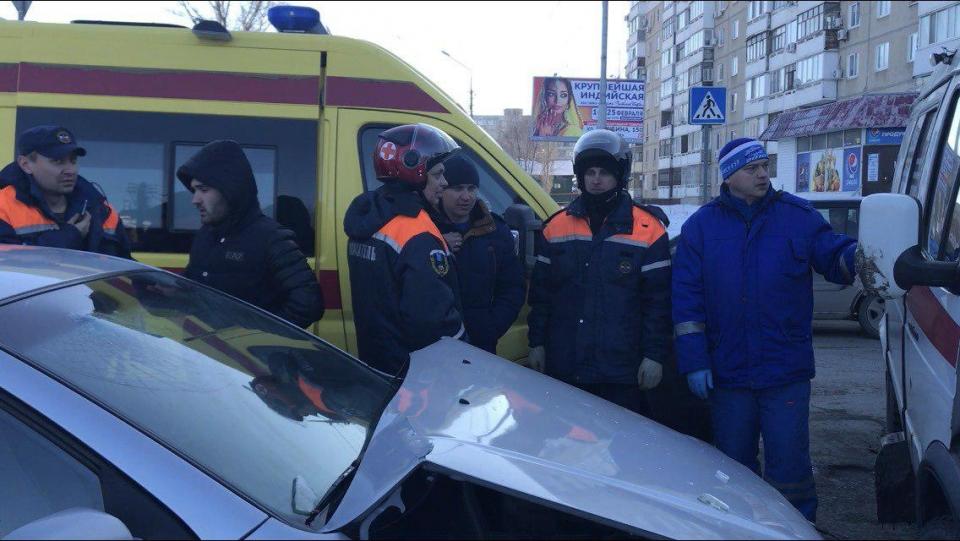 НаСоколовой вДТП пострадала фельдшер «скорой»