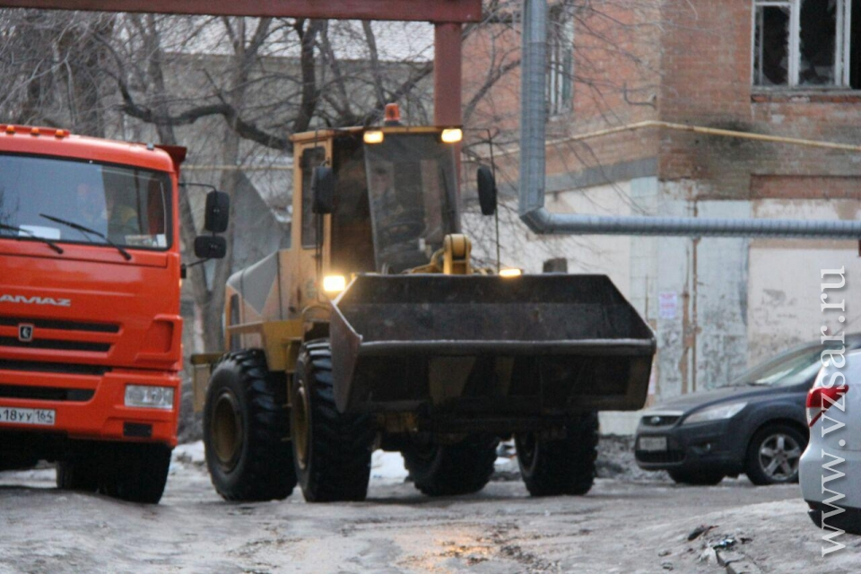НаКиевской рухнул расселенный 4-этажный дом