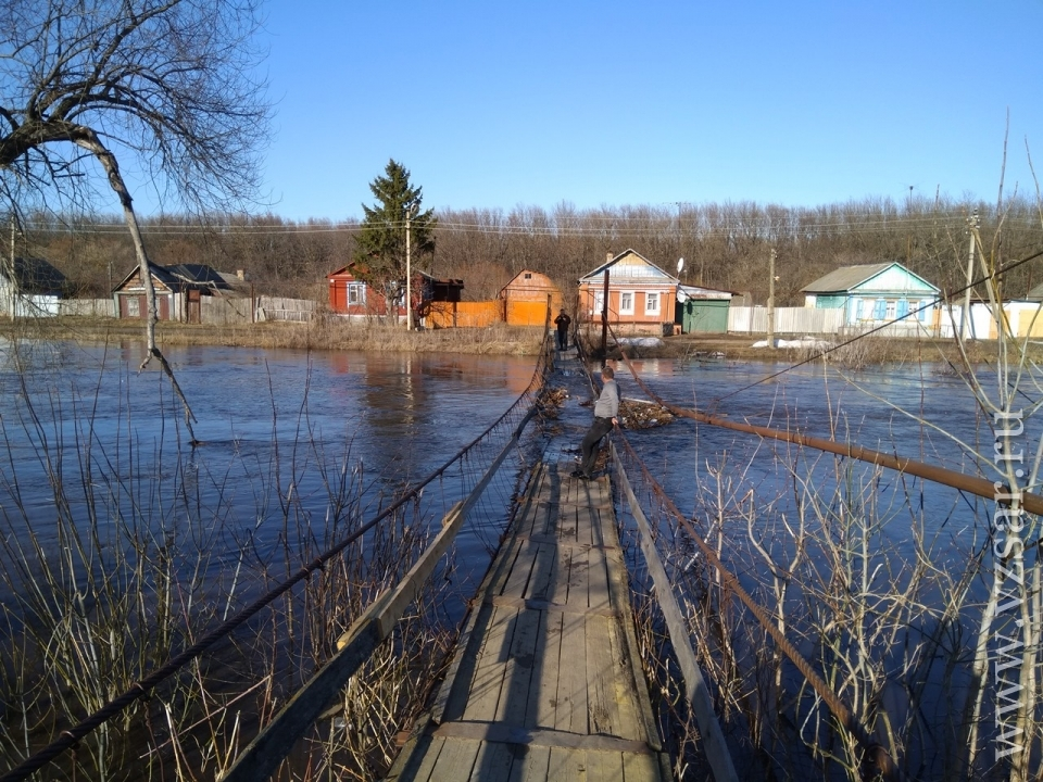 Паводок вТульской области пошел наспад