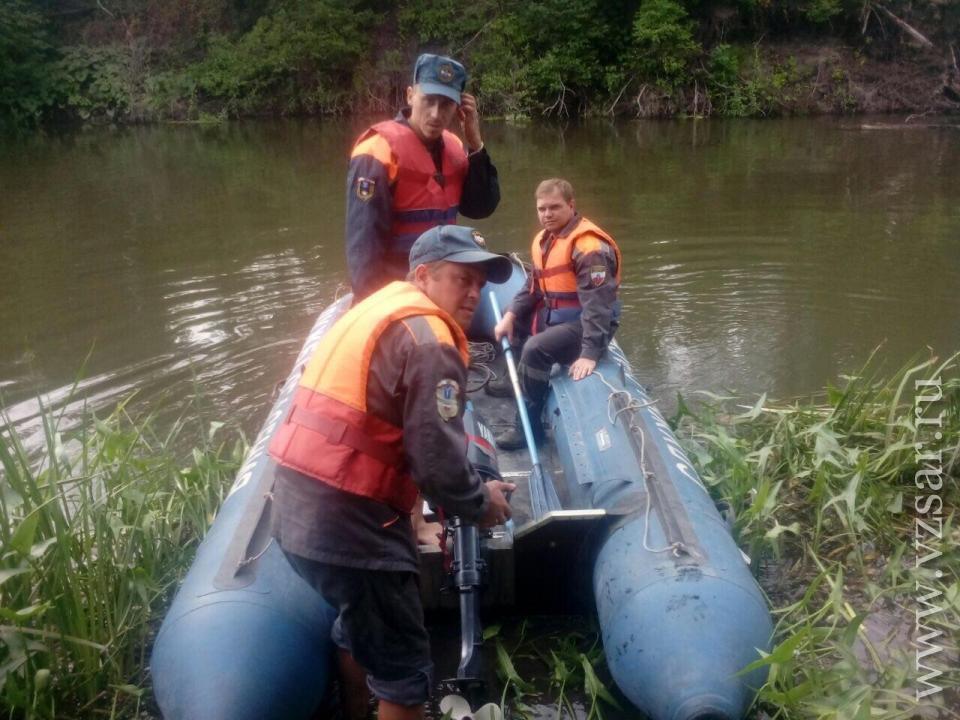 Под Вольском отыскали  тело утонувшей шестилетней девушки