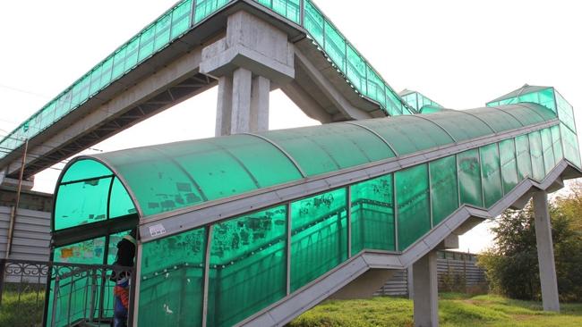 пешеходный мост на 5-й Нагорной