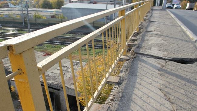мост в районе Табачной фабрики