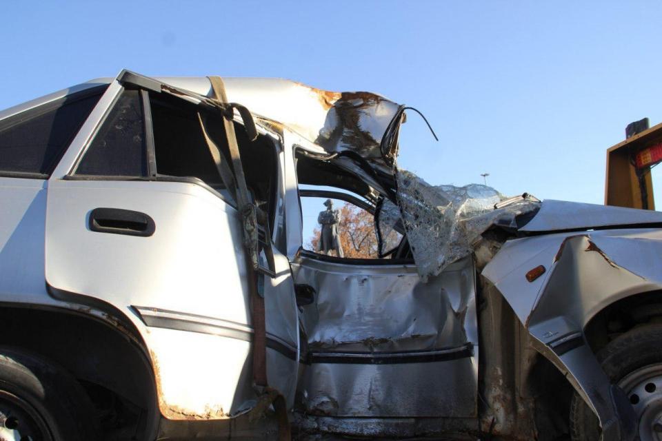 Саратовские студенты попали в аварию