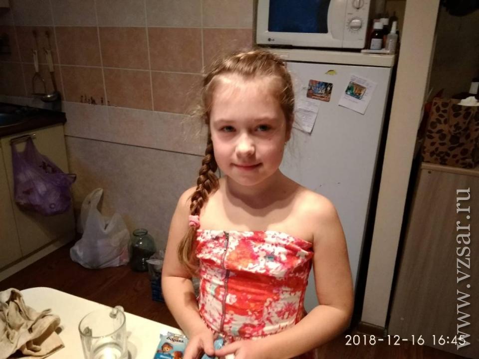 ВСаратове ищут пропавшую 9-летнюю школьницу