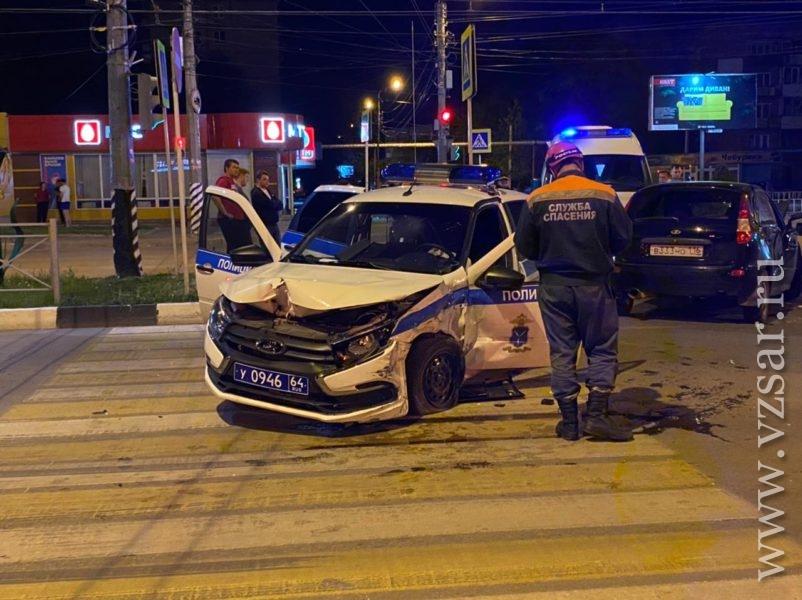 В погоне за нетрезвым водителем пострадал экипаж ДПС