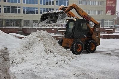 Скреперы на колесиках для уборки снега
