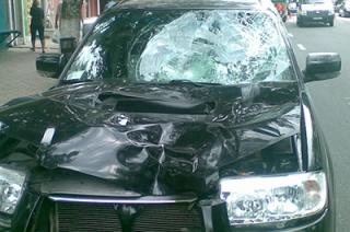 Водитель иномарки сбил молодую женщину на пешеходном переходе