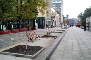 Открытие пешеходной зоны. Автобусы временно сменят маршруты