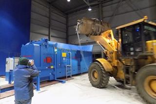 Состоялся тестовый пуск конвейера Балаковского мусороперерабатывающего комплекса