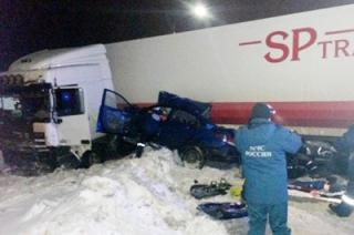 Два молодых саратовца погибли в аварии под Ярославлем