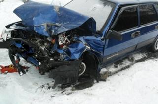 В аварии на Чернышевского пострадали двое водителей