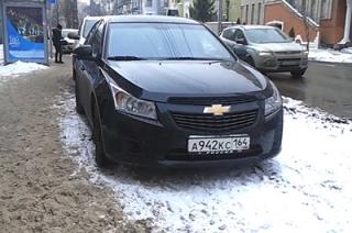 Саратовцы просят пресечь массовые нарушения ПДД на Некрасова