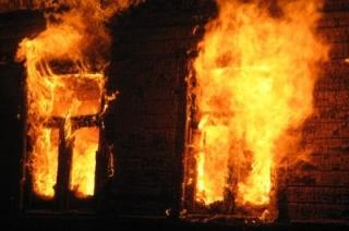 В новогоднюю ночь на пожаре погиб житель Балашова