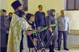 Губернатор встретил Рождество в родном селе Благодатное