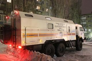 Александр Буренин доложил в МЧС России о ходе работ на месте взрыва