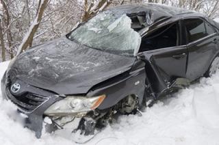 В тройной аварии в Пугачеве пострадали водитель и пассажир