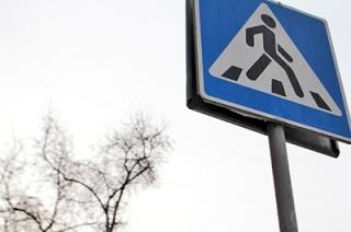 Напротив авторынка водитель иномарки сбил женщину на переходе
