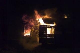 Пожар в Вольске унес жизнь четырехлетней девочки