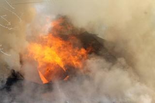 В Энгельсе на пожаре погиб мужчина