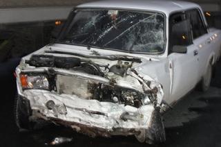 """Пожилой водитель """"пятерки"""" спровоцировал аварию в Пугачеве"""