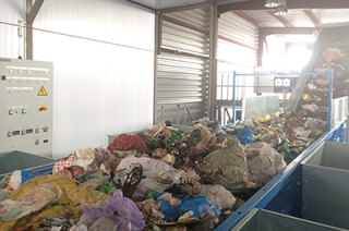 Состоялся тестовый пуск конвейера Елшанской мусороперегрузочной станции
