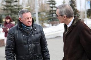 Борис Шинчук принял на Соколовой горе советника посольства Франции