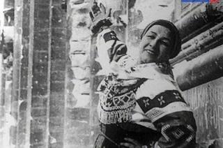 Прототипом памятника Лидии Руслановой послужит фото на ступенях Рейхстага