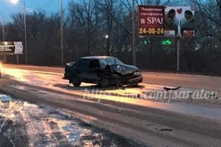 В ДТП на Усть-Курдюмском шоссе пострадали четверо мужчин