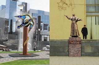 """Пользователи соцсетей и читатели """"Взгляда"""" высмеяли проекты скульптора Щербакова"""