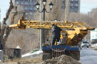 Участок саратовской набережной закрывают для работ по благоустройству