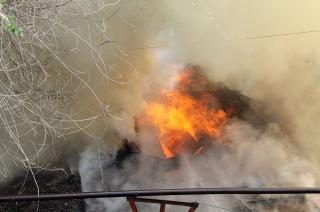 На пожаре в Балашове погибла пенсионерка