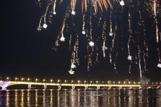 Форум урбанистики. Мост Саратов-Энгельс засиял новыми огнями
