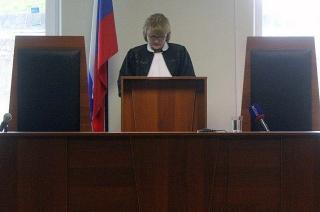 Судья начала зачитывать приговор Владимиру Зубакину
