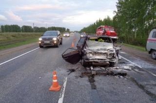 В аварии в Тамбовской области погибли два саратовца