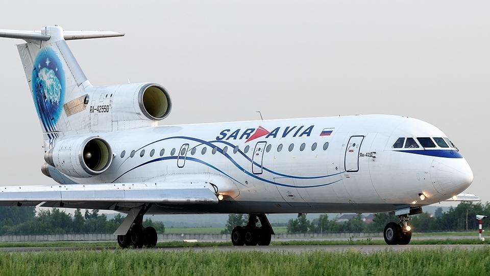 Самолет рейса Уфа— Москва вернулся ваэропорт из-за неисправности