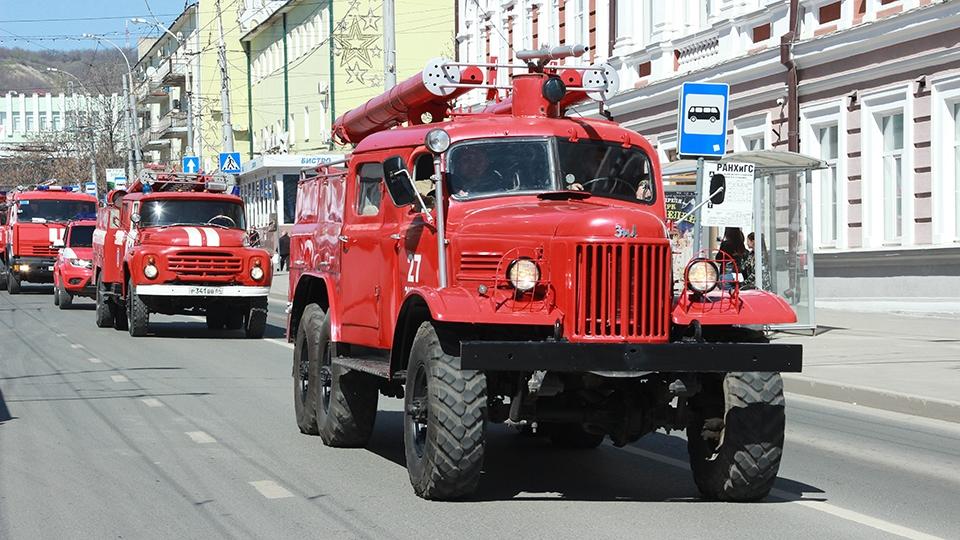 Пожарный надзор Российской Федерации  отмечает 90-летний юбилей